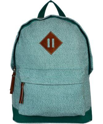 Basic Green Canvas Backpack