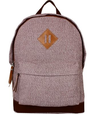 Basic Brown Canvas Backpack
