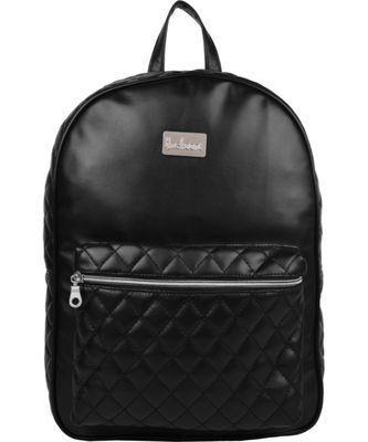 Duvet Black PU Backpack