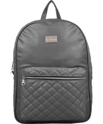 Duvet Grey PU Backpack