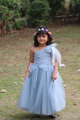 sky net gown for girl