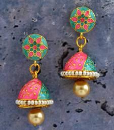 Multicolor Earrings Designer Mina Earring For Girls