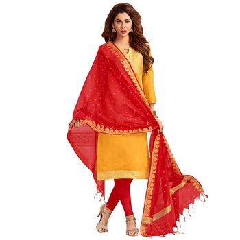 Yellow Banarasi Banarasi Salwar