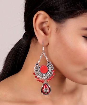 Cutesy Best of Red Earrings