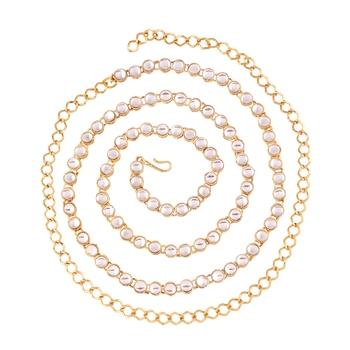 Traditional Gold Plated Kundan Kamarband For Women (B020)