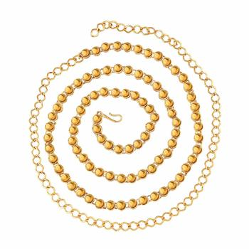 Gold Plated Kundan Belly Chain Kamarband For Girls Women (B020FL)