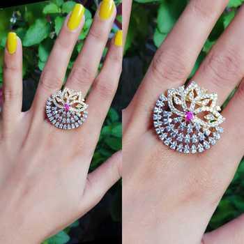 American diamond ring