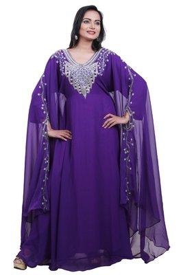 Dubai Kaftan Women Dress Moroccan Caftan Long Farasha Maxi Dress Al104