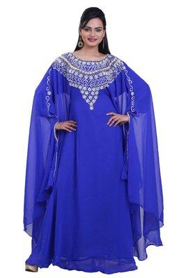Dubai Kaftan Women Dress Moroccan Caftan Long Farasha Maxi Dress AL110