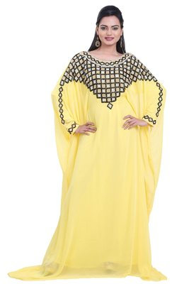 Dubai Kaftan Women Dress Moroccan Caftan Long Farasha Maxi Dress AL112