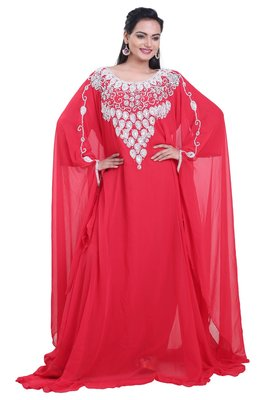 Dubai Kaftan Women Dress Moroccan Caftan Long Farasha Maxi Dress AL115
