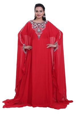 Dubai Kaftan Women Dress Moroccan Caftan Long Farasha Maxi Dress Al119