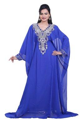 Dubai Kaftan Women Dress Moroccan Caftan Long Farasha Maxi Dress AL121
