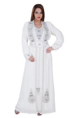 Dubai Kaftan Women Dress Moroccan Caftan Long Farasha Maxi Dress AL123