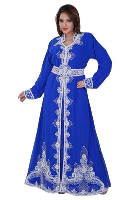 Dubai Kaftan Women Dress Moroccan Caftan Long Farasha Maxi Dress AL125