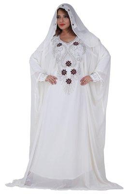 Dubai Kaftan Women Dress Moroccan Caftan Long Farasha Maxi Dress AL127