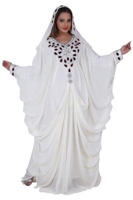 Dubai Kaftan Women Dress Moroccan Caftan Long Farasha Maxi Dress Al128