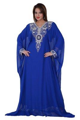 Dubai Kaftan Women Dress Moroccan Caftan Long Farasha Maxi Dress Al129