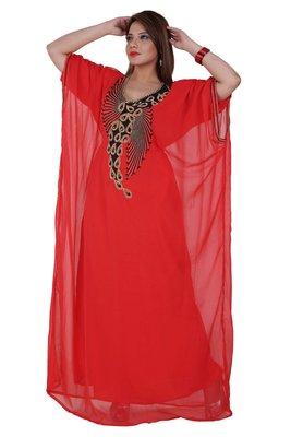 Dubai Kaftan Women Dress Moroccan Caftan Long Farasha Maxi Dress AL131