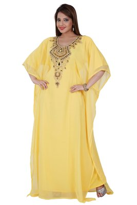 Dubai Kaftan Women Dress Moroccan Caftan Long Farasha Maxi Dress AL132