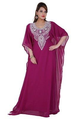 Dubai Kaftan Women Dress Moroccan Caftan Long Farasha Maxi Dress AL138
