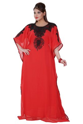 Dubai Kaftan Women Dress Moroccan Caftan Long Farasha Maxi Dress AL142