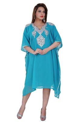 Dubai Kaftan Women Dress Moroccan Caftan Long Farasha Maxi Dress AL145
