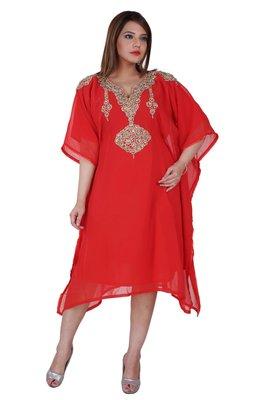 Dubai Kaftan Women Dress Moroccan Caftan Long Farasha Maxi Dress Al146