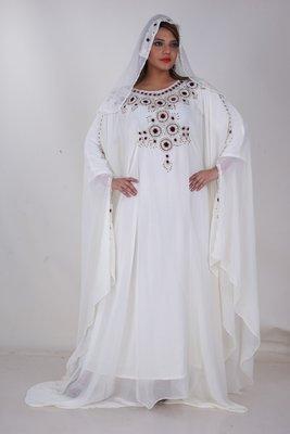 Dubai Kaftan Women Dress Moroccan Caftan Long Farasha Maxi Dress AL150