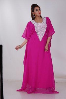 Dubai Kaftan Women Dress Moroccan Caftan Long Farasha Maxi Dress Al153