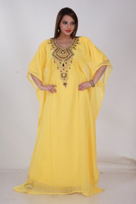 Dubai Kaftan Women Dress Moroccan Caftan Long Farasha Maxi Dress AL160