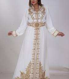 Dubai Kaftan Women Dress Moroccan Caftan Long Farasha Maxi Dress Al162