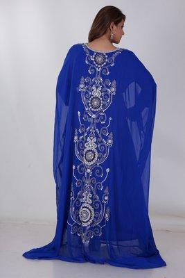 Dubai Kaftan Women Dress Moroccan Caftan Long Farasha Maxi Dress AL163