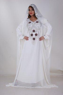 Dubai Kaftan Women Dress Moroccan Caftan Long Farasha Maxi Dress AL165