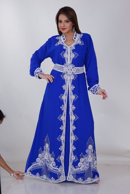 Dubai Kaftan Women Dress Moroccan Caftan Long Farasha Maxi Dress Al167