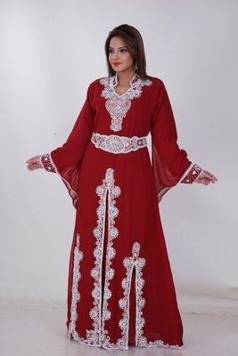 Dubai Kaftan Women Dress Moroccan Caftan Long Farasha Maxi Dress AL168
