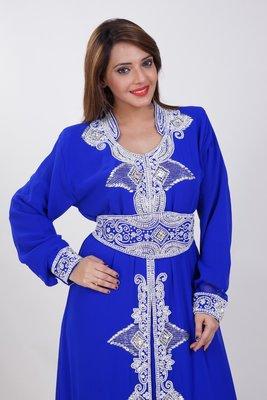 Dubai Kaftan Women Dress Moroccan Caftan Long Farasha Maxi Dress Al175