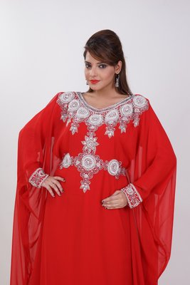 Dubai Kaftan Women Dress Moroccan Caftan Long Farasha Maxi Dress AL184