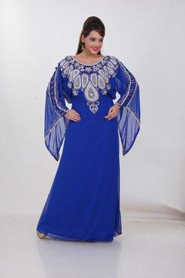 Dubai Kaftan Women Dress Moroccan Caftan Long Farasha Maxi Dress Al186
