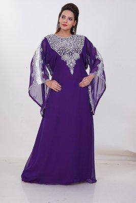 Dubai Kaftan Women Dress Moroccan Caftan Long Farasha Maxi Dress AL188