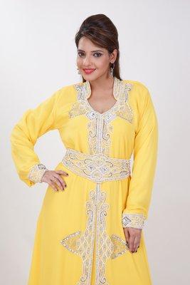 Dubai Kaftan Women Dress Moroccan Caftan Long Farasha Maxi Dress AL189
