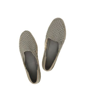 grey Womens  leather shoe women