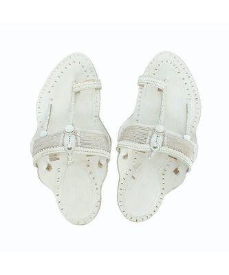White Mens shoe