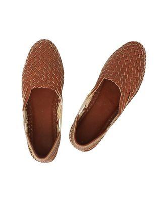 Tan Mens shoe