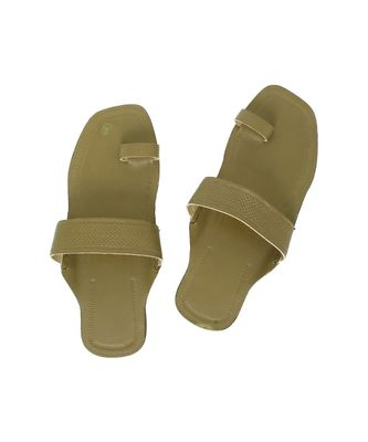 Seaweed Mens Leather Chappal