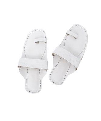 White Men sandal