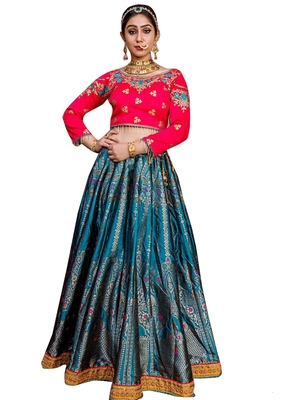 Sky-blue plain