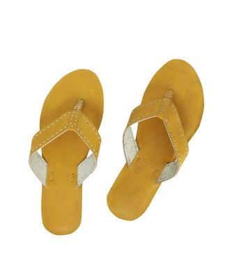 Yellow Women Shoe