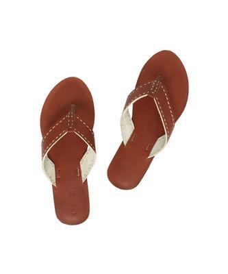 Tan Women Flip Flop