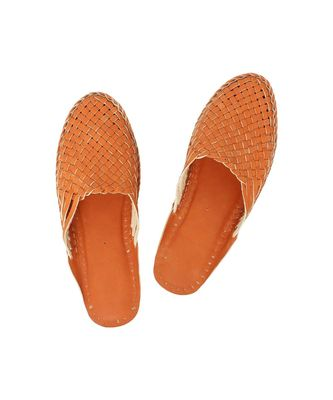 Orange Women shoe